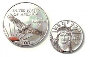 9995 PLATINUM鉑金幣