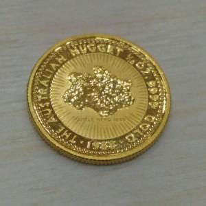 鴻運小金幣反面