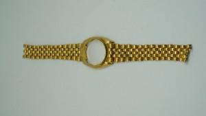 純黃金手錶
