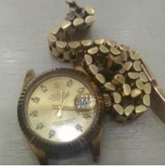 勞力士ROLEX港組收購 K金錶帶