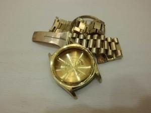 回收壞掉的勞力士K金錶帶