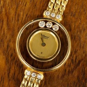 蕭邦Chopard腕錶 Happy Diamond系列-1