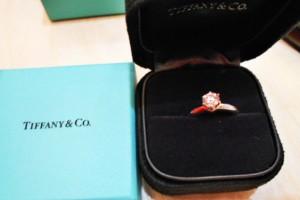 Tiffany 0.53CT 鑽戒回收