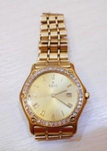 EBEL玉寶鑽石K金腕錶出售