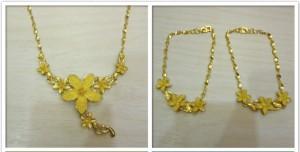 花朵造型之結婚飾金收購 日本桂麗金專業回收