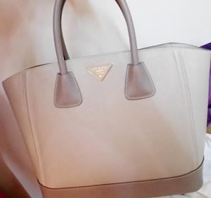 Prada名牌包收購Saffiano Lux tote bag