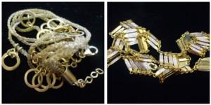 不知道材質的飾品桂麗瑩提供免費鑑定與收購的服務唷!