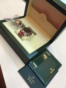 勞力士DAYTONA 116520-78590 腕錶回收in JewelCafe