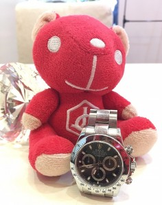 勞力士DAYTONA 116520-78590 黑面腕錶回收