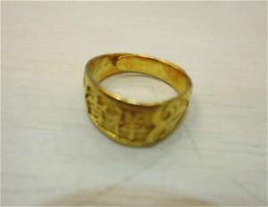 氧化的黃金戒指 出售就找桂麗金