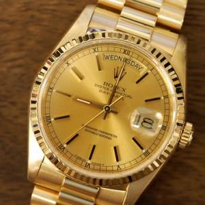 超強優惠現金加價送!ROLEX全金腕錶 回收