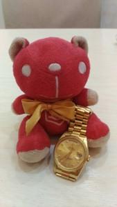 ROLEX 全金day-date圓鑽面盤腕錶18238回收