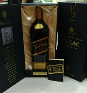 Johnnie Walker黑標威士忌老酒回收