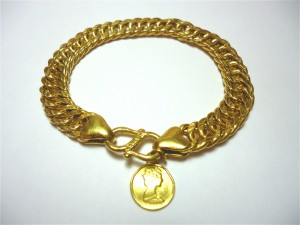 長輩留下的黃金手鍊回收就找桂麗金!
