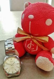 半世紀的勞力士5500腕錶回收分享