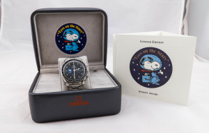 超霸限量 Snoopy 機械腕錶收購就找 JEWEL CAFE 新竹店