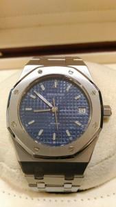 奢華的運動錶 愛彼(Audemars Piguet)錶 收購 JEWEL CAFE興隆店  (台北市文山區捷運萬芳醫院站)