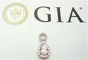 GIA 水滴 鑽石 回收