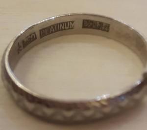 0908-鉑金 白金 戒指 收購-2