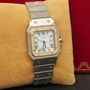 0930-卡地亞腕錶 Santos de Cartier系列腕錶-1