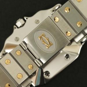 0930-卡地亞腕錶 Santos de Cartier系列腕錶-2