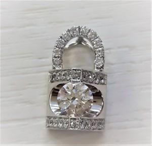 02.25-鎖頭鑽墜 - 0.32ct - GIA鑽石收購