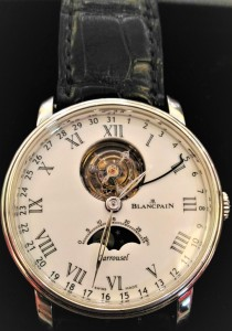 04.20-BLANCPAIN 寶鉑 Villeret Carrousel Moon Phase卡羅素月相腕錶-1
