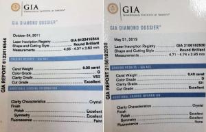 07.21-GIA鑽石收購分享-0.30ct鑽戒、0.40ct鑽墜-JEWEL CAFE 蘆洲店 (新北市)2