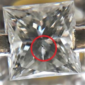 10.10-常見的鑽石內含物-Crysta結晶體(黑點) JEWEL CAFE 鑽石收購專門店-蘆洲店 (新北市)-1
