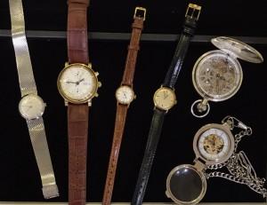OMEGA皮帶手錶