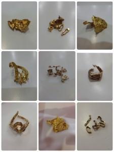 壞掉、斷掉的黃金、K金、白金飾品