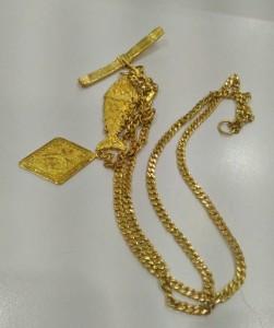 貴金屬 黃金純金 項鍊飾品
