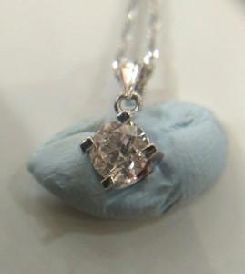 鑽石K金鍊0.43CT