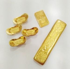 黃金元寶條塊