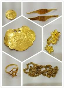 貴金屬飾金黃金K金