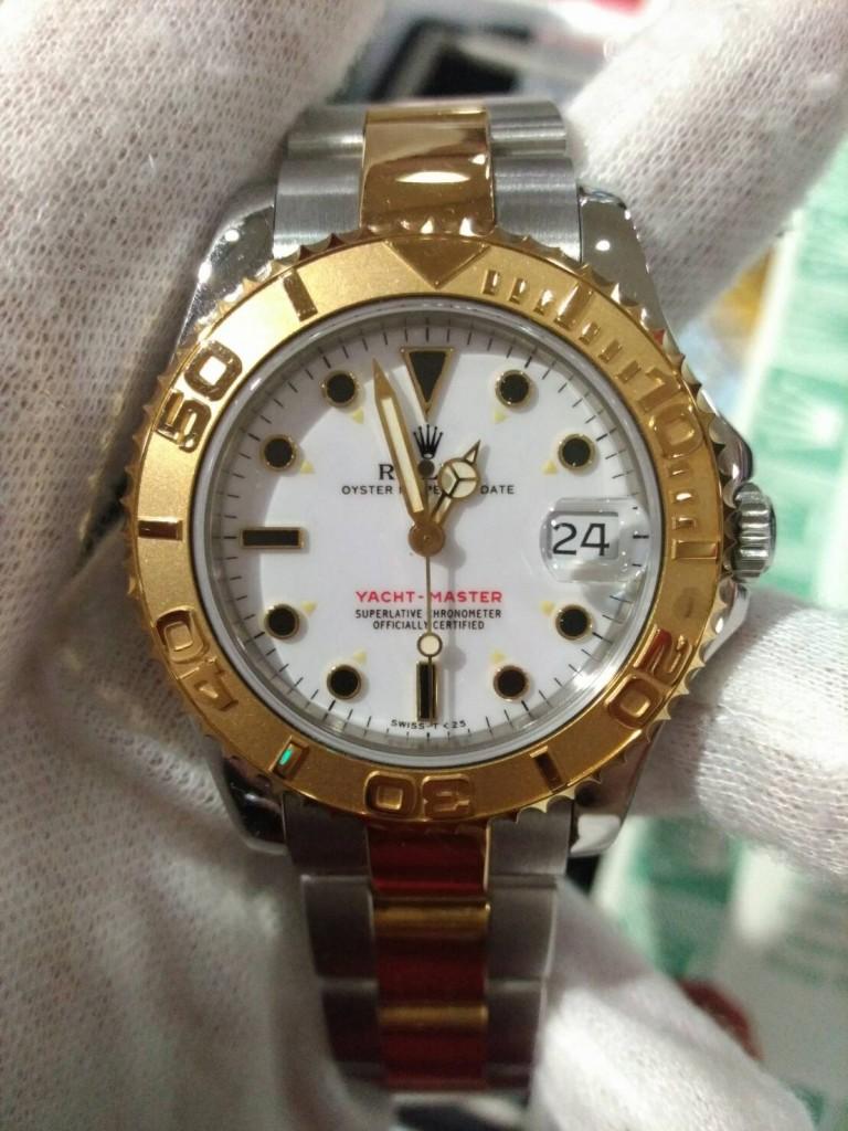 ROLEX 68623 半金中性錶