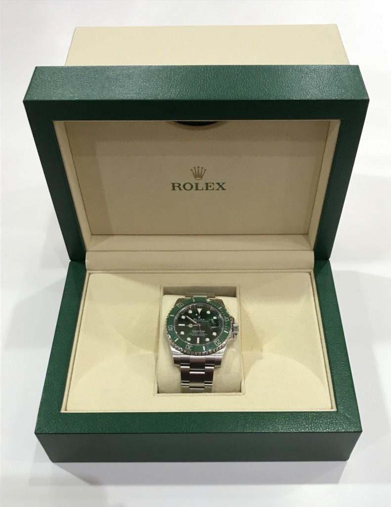 ROLEX116610LV綠水鬼手錶