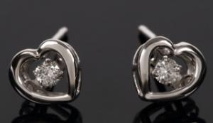 811鑽石耳環