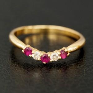 0216寶石鑽石戒指