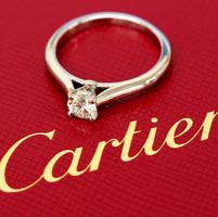 cartier鑽石戒指