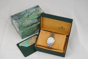 不鏽鋼勞力士錶,附盒