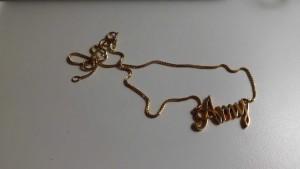 amyk金項鍊