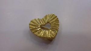 回收愛心黃金飾品