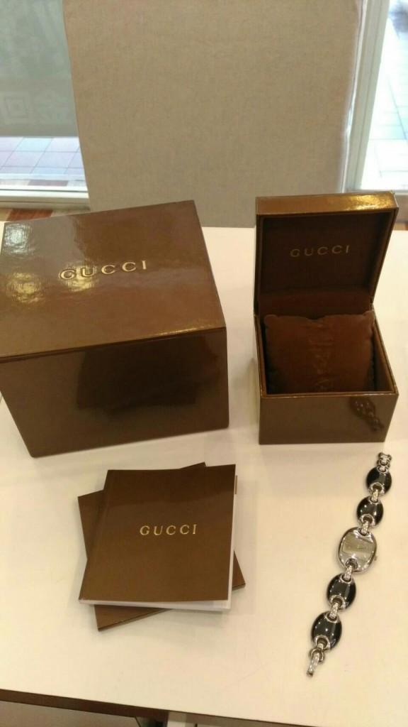 收購GUCCI石英錶