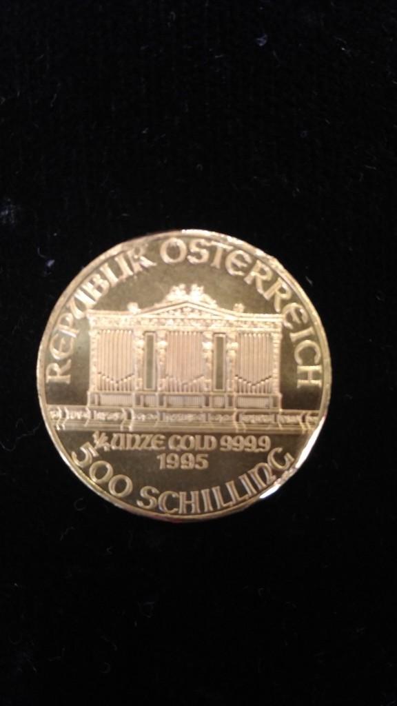 收購維也納愛樂金幣