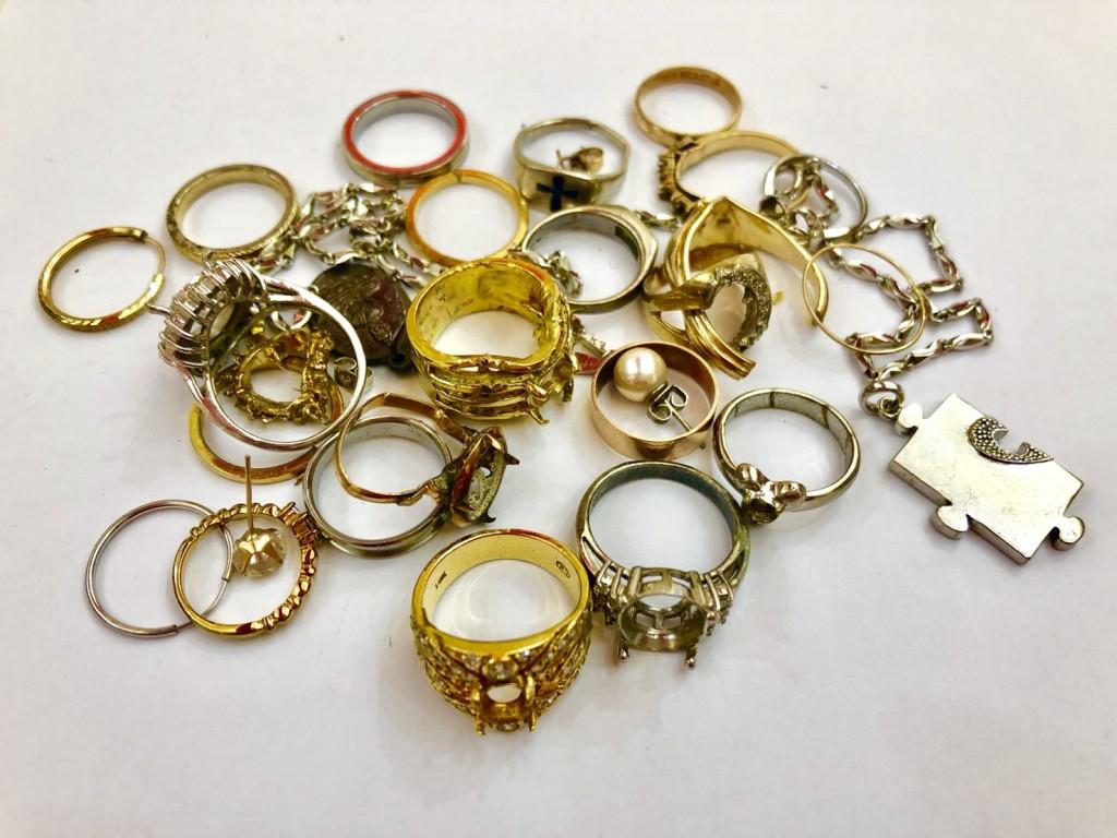 黃金K金白金鑽石收購中
