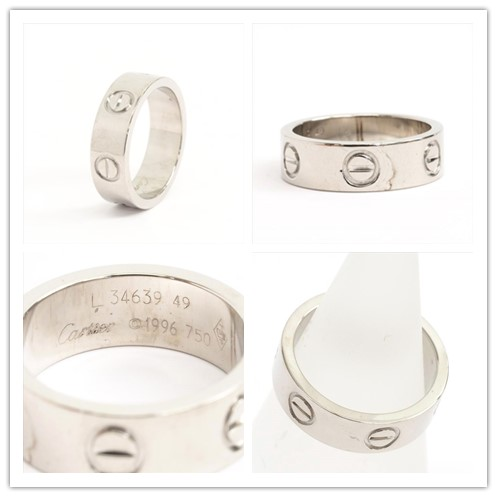 Cartier卡地亞 經典LOVE RING