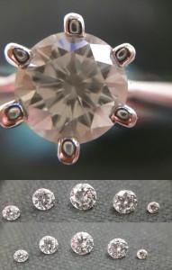 人工鑽石 ─ 摩星鑽