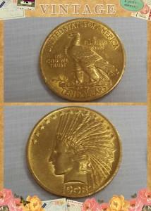 美國印地安鷹揚金幣