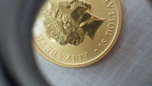 袋鼠金幣細部圖